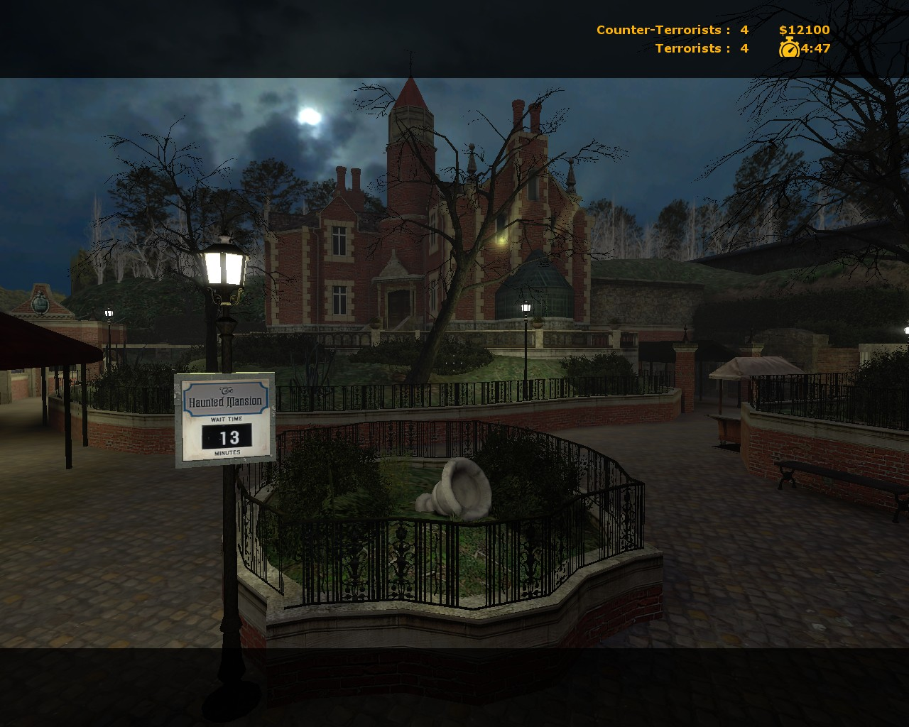 Haunted Mansion Serious GMod Servers - Florida map gmod